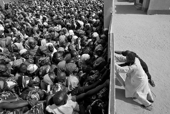 Famine In Niger, Africa.