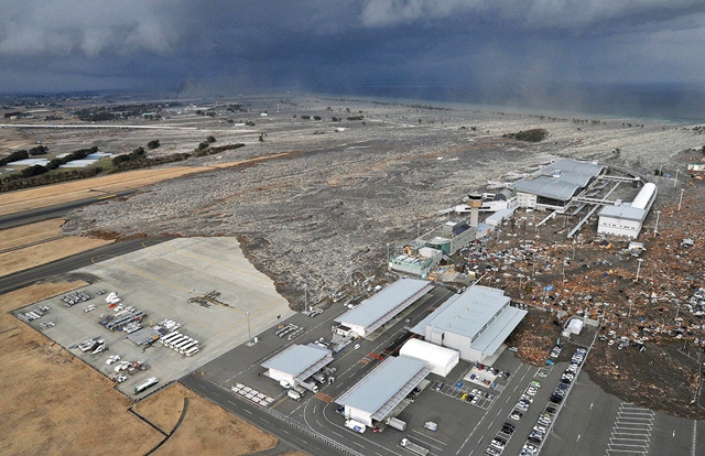 CORRECTION Japan Earthquake