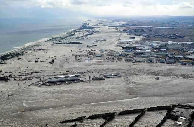 Japonsko zemetrasenie cunami