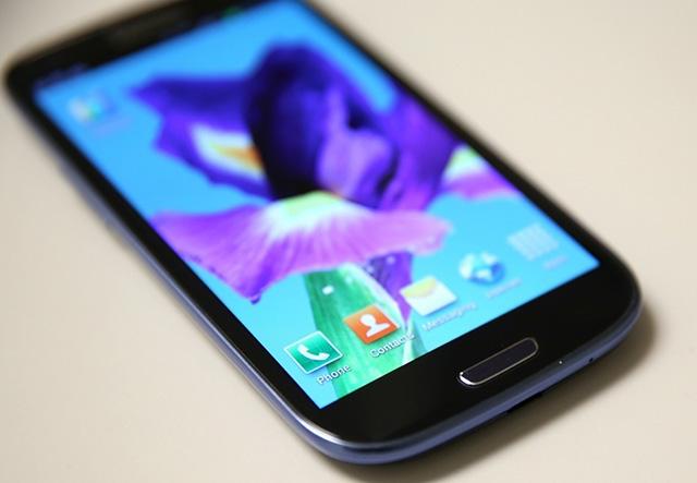 Samsung Ggalaxy S4 detail