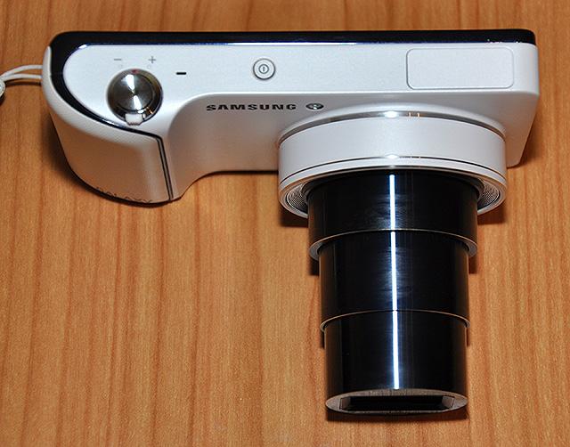 samsung galaxy camera objektív