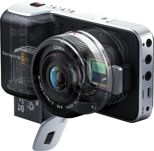 Blackmagic Pocket Cinema Camera techspec