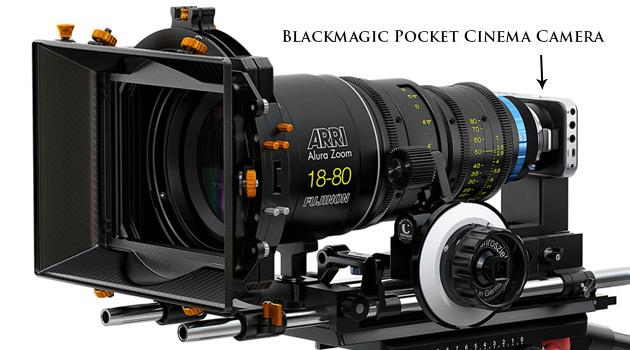 Blackmagic Pocket Cinema Camera tripod