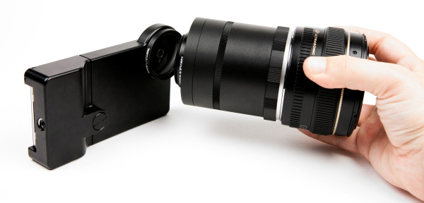 iphone-slr-mount adapter lenses