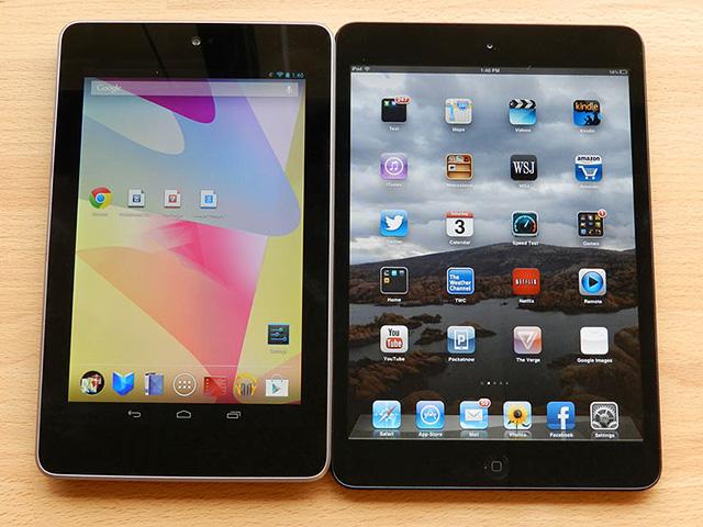 Nexus 7 versus iPad mini