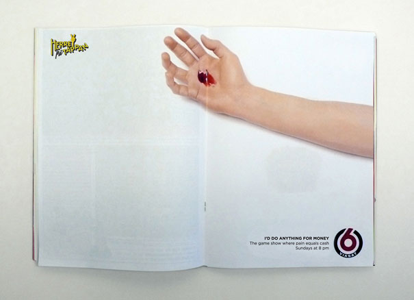 creative magazine advertisment - viasat