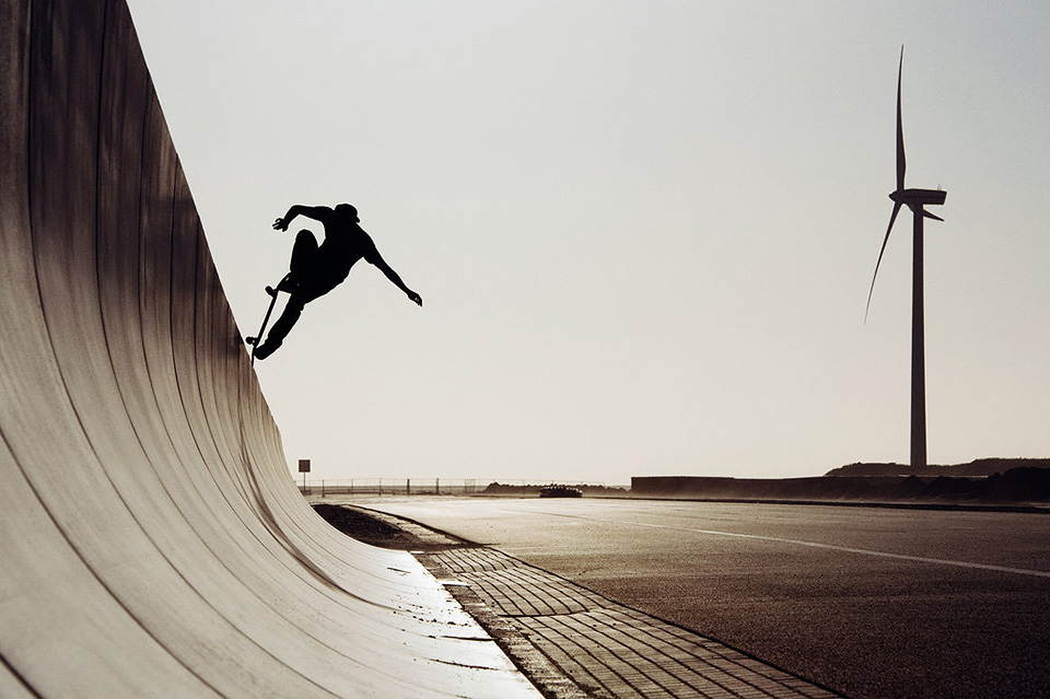 foto: Davy Van Laere, jazdec: Szymon Stachon, miesto: Rotterdam, Holandsko