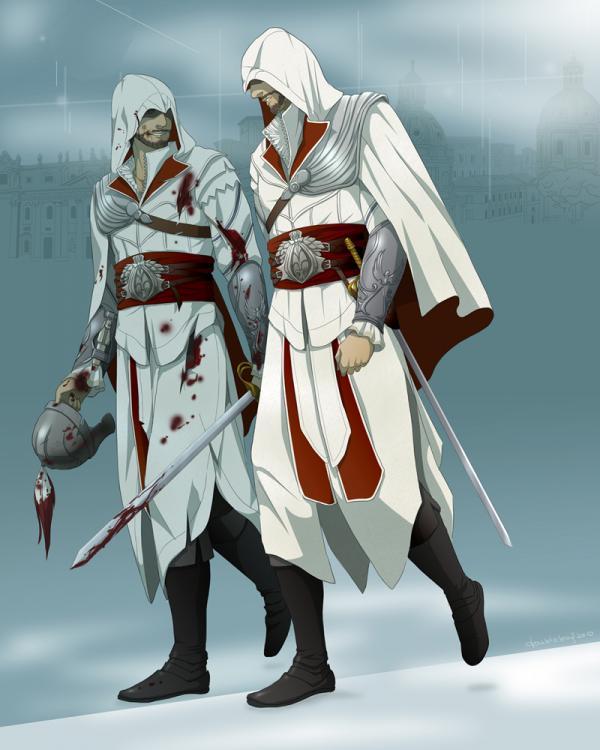 ilustrácie postáv z videohier
