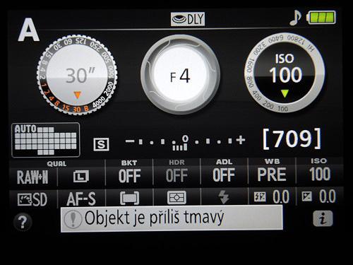 Nové štýlové menu Nikon D5300