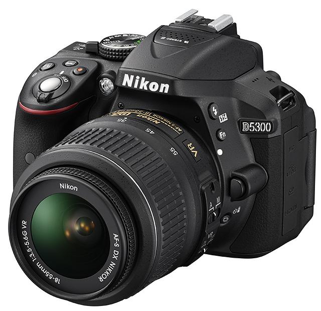 novinka Nikon D5300 s Wifi a GPS