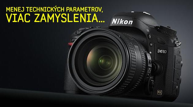 Nový Nikon D610 recenzia