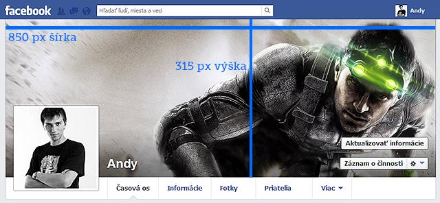 rozmer titulnej fotky na profil facebook