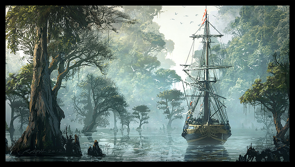 Assassins Creed IV Black Flag Concept Art 03