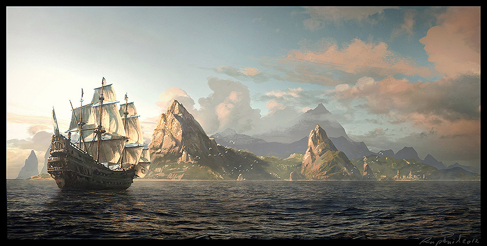 Assassins Creed IV Black Flag Concept Art 05