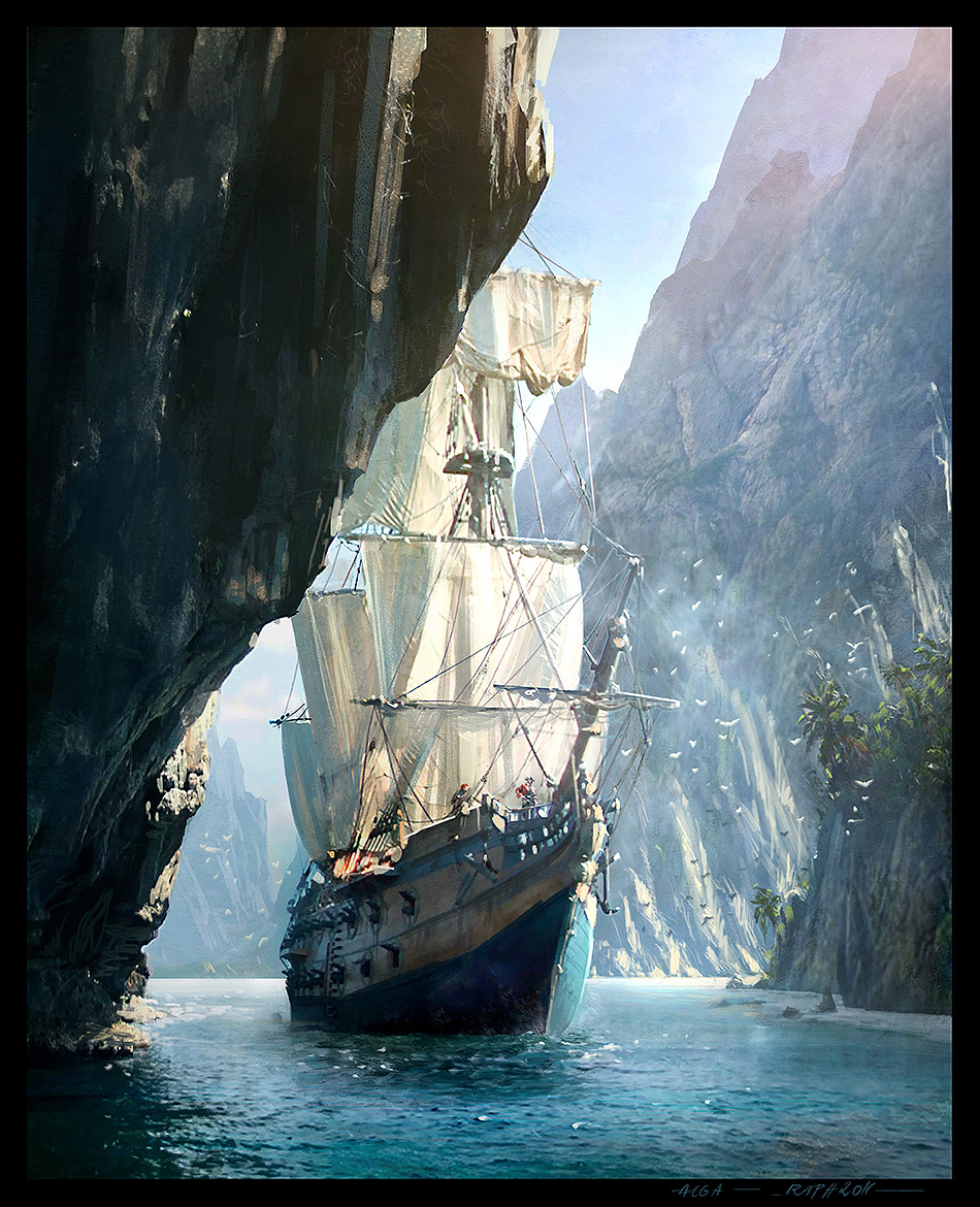 Assassins Creed IV Black Flag Concept Art 06