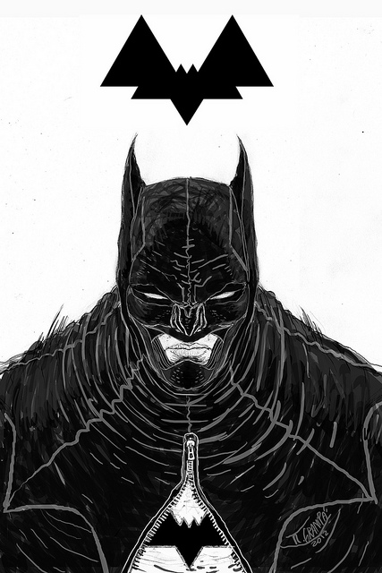 batman illustration by rafael grampá