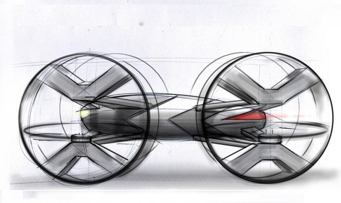 koncept RC car