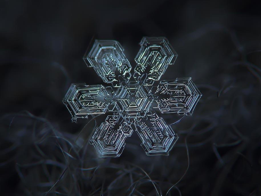snowflake closeup alexey kljatov 07