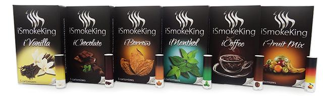 elektronicka cigareta iSmokeKing  kartomizery