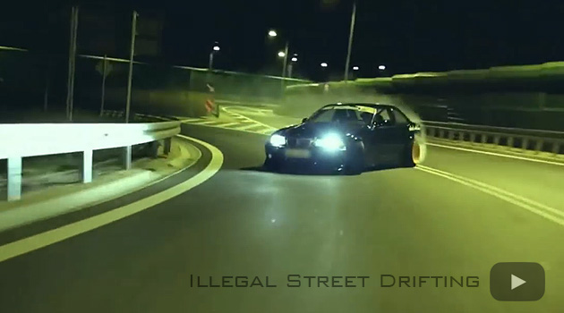 night street drifting