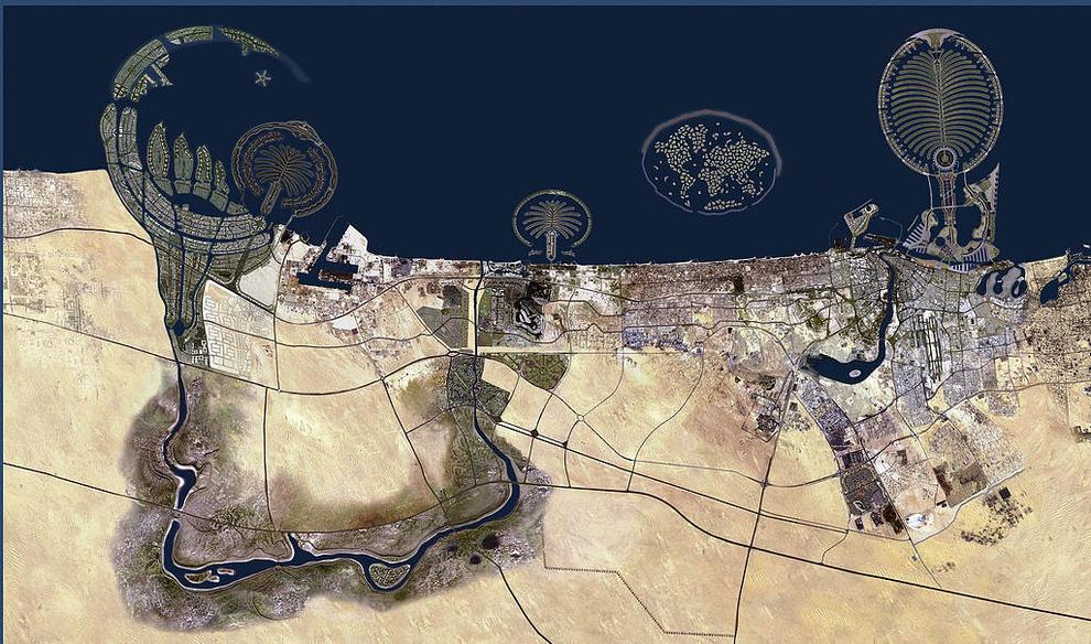 mesto z vtacej perspektivy 02 - dubai arabske emiraty