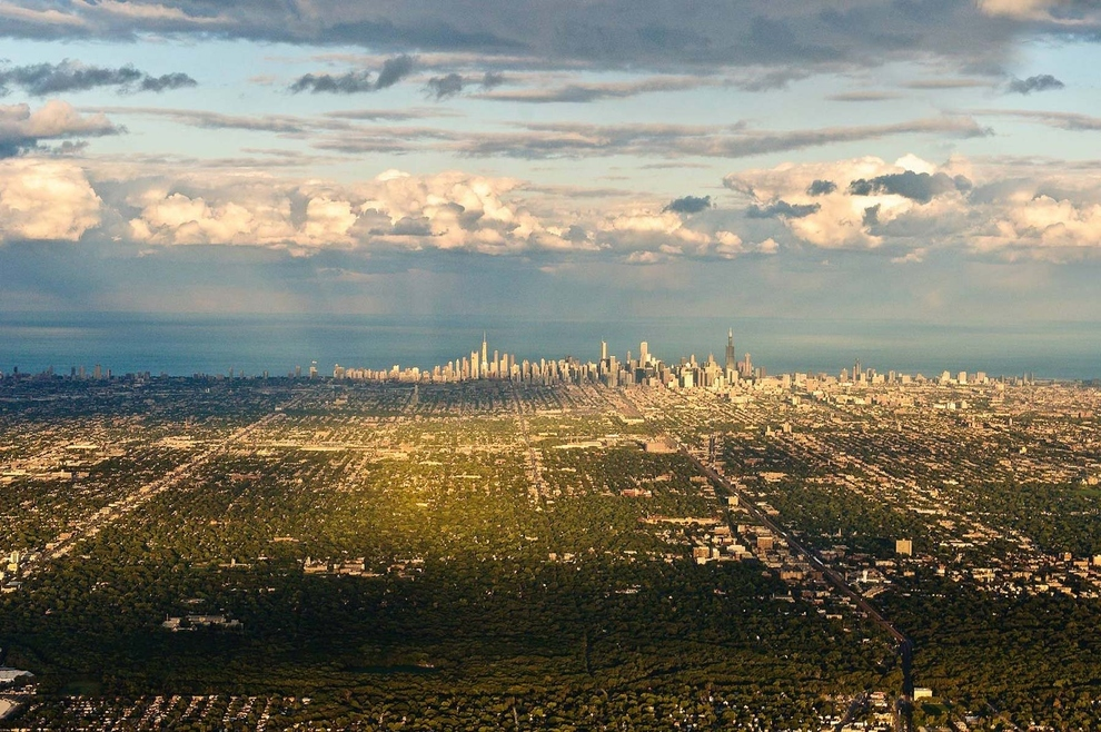 mesto z vtacej perspektivy 03 - chicago illinois