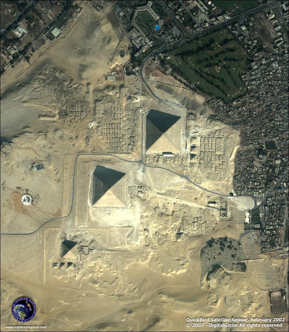 mesto z vtacej perspektivy 09 - Giza Egypt