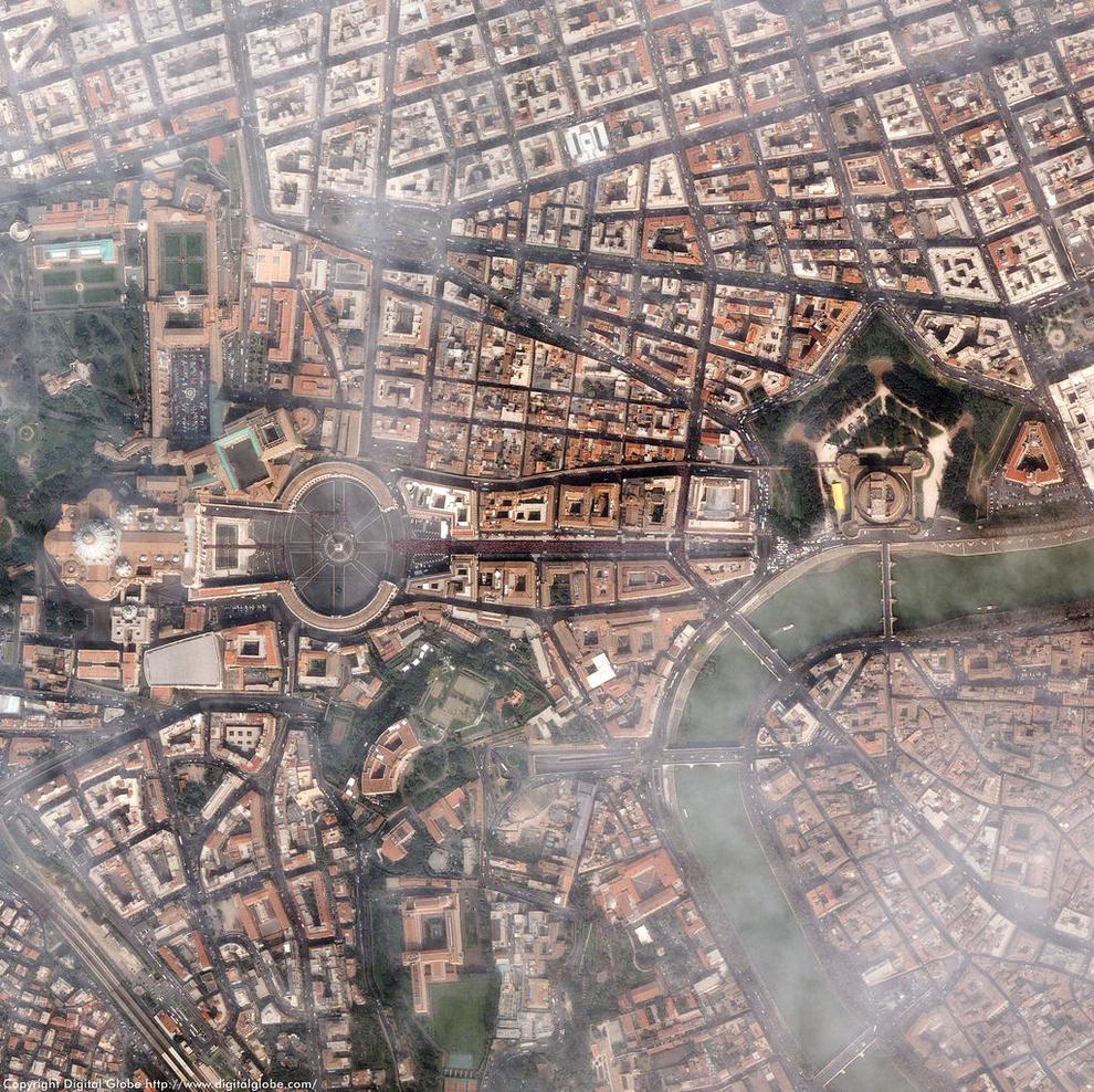 mesto z vtacej perspektivy 11 - vatikan