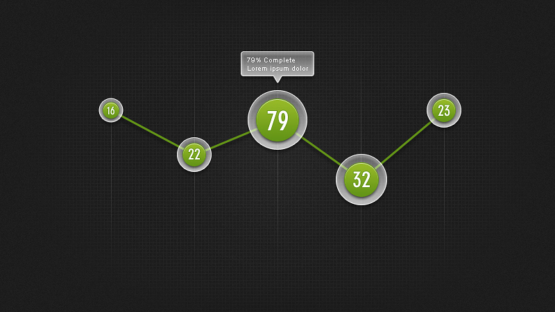 graph template photoshop psd 13