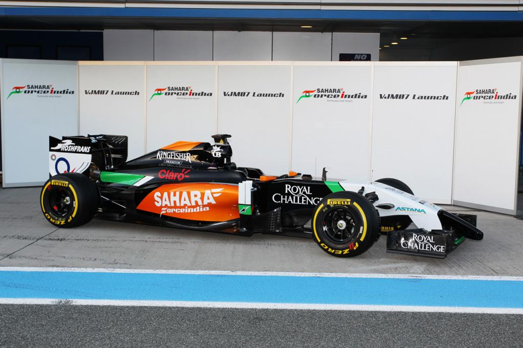 nové monoposty F1 2014 force india