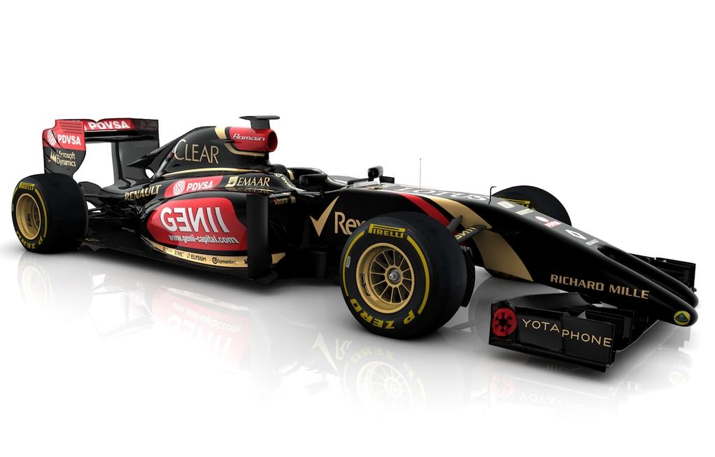 nové monoposty F1 2014 lotus