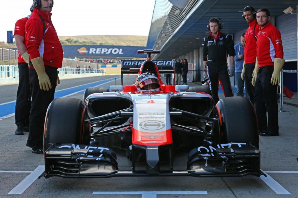 nové monoposty F1 2014 marusia