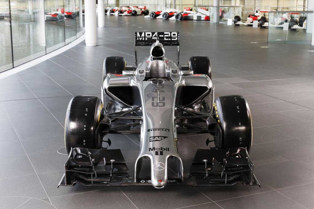 nové monoposty F1 2014 mclaren mercedes