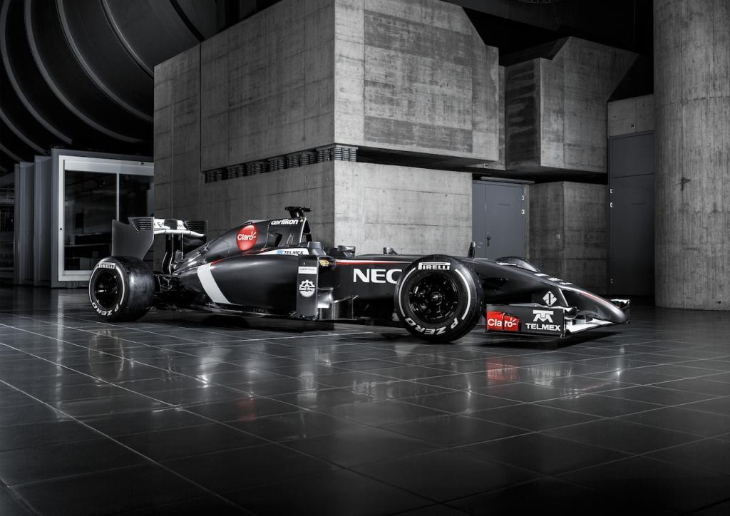 nové monoposty F1 2014 sauber