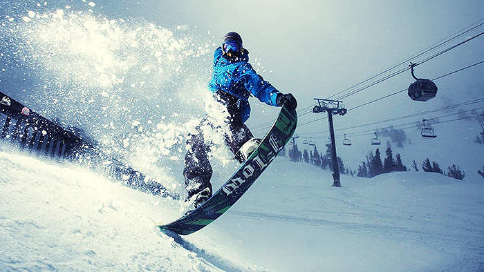 winter games snowboarding creative photography
