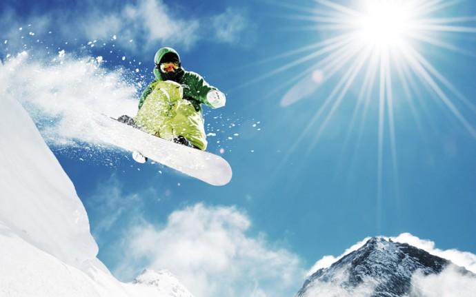 snowboarding fotografovanie