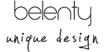 belenty unique design logo