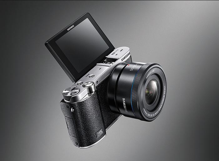 Samsung NX3000 Black title