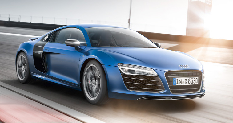 youtube reklama na Audi r8