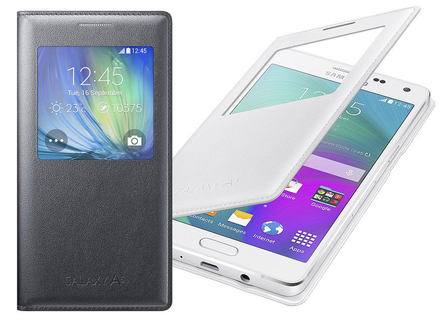 Samsung Galaxy A5 flip puzdro s view