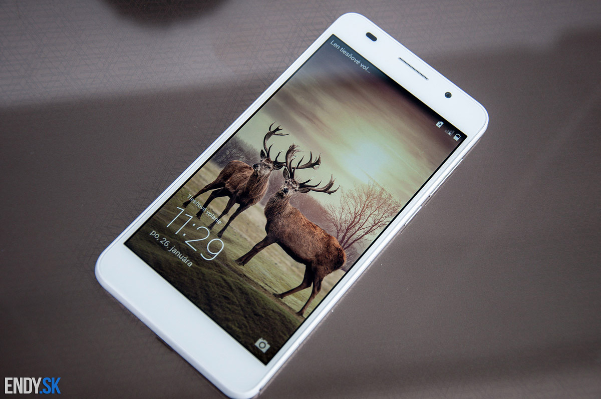 Honor 6 recenzia Full HD displej