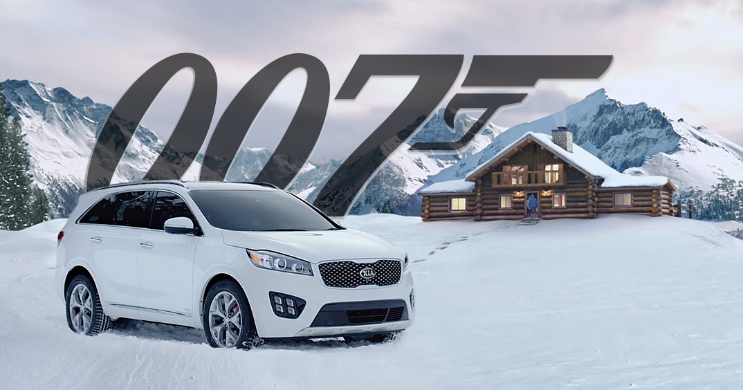 KIA Sorento 2016 James Bond - Pierce Brosnan