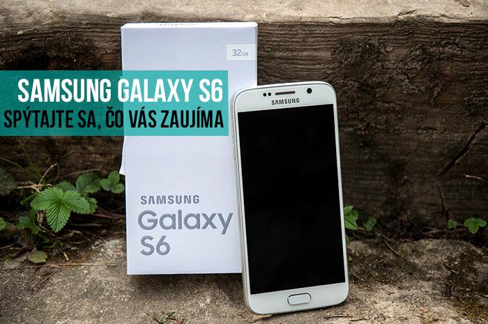 Samsung Galaxy S6 na testovanie