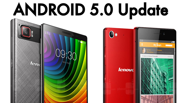 Lenovo Android 5.0 Lollipop