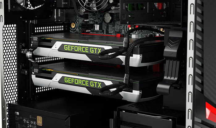 nVidia G Force GTX double power