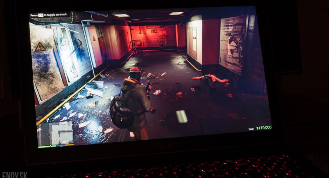 Asus G501 GTA V gameplay