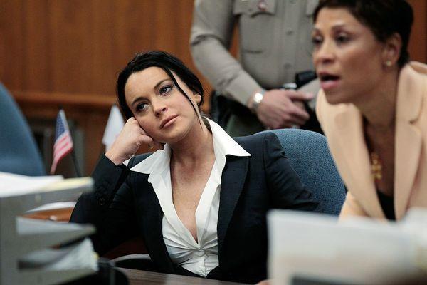 Škandály Lindsay Morgan Lohan